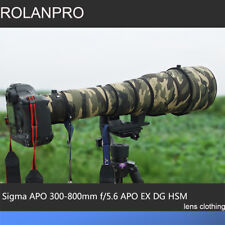Lens Clothing Camouflage Rain Cover for Sigma APO 300-800mm F5.6 EX DG HSM