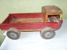 Ancien Camion en Bois DEJOU