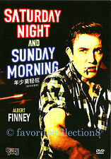 Saturday Night and Sunday Morning (1960) - Albert Finney,Shirley Anne F- DVD NEW