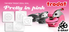 TRODAT embossing rubber stamp press-seal max. 40mm - Personalised/Customised