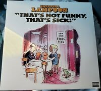 *NEW/SEALED/MINT/MINT* NATIONAL LAMPOON THATS SICK NOT FUNNY LP 2003 Bill Murray