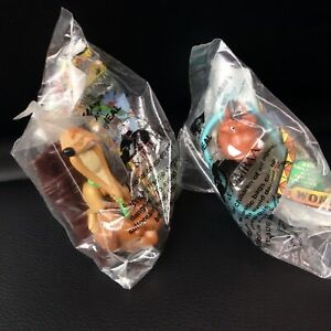 KFC Timon and Pumba World of Bugs 1996 Toy Figure (Lot of 2)