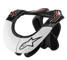 Alpinestars PRO NECK/SPINE INJURY SUPPORT Armour White Motocross MX Off-Road