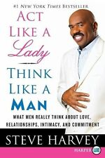 Act Like a Lady, Think Like a Man LP - New Book Harvey, Steve