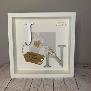 Personalised Engagement, Wedding, Anniversary Framed Gift/Keepsake