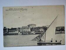 ANZIO Riviera di Ponente barca vela Roma vecchia cartolina
