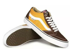 Vans Anti Hero TNT SG Size 7.5 Brown Yellow Trujillo Skate Supreme Rare NWOB