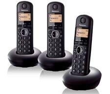 KX-TGB 213 Panasonic Cordless DECT Home Phone 3 Handsets Trio Telephone