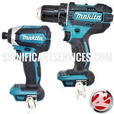 "Makita XDT13Z 18V LXT Brushless 1/4"" Impact XFD10Z 1/2"" Cordless Drill Driver"