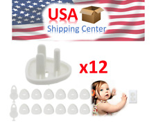 Outlet Plug Covers Baby Proofing Electric Protector Caps Kit for Child Safety