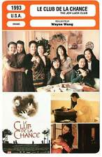 FICHE CINEMA : LE CLUB DE LA CHANCE - Wayne Wang 1993 The Joy Luck Club