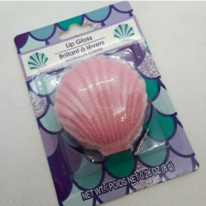 Mermaid Siren Seashell Lip Gloss Pink Seashell