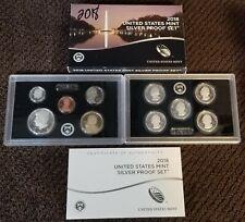 2018-S US Mint SILVER Proof Set W/Box & COA Complete