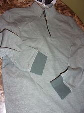 NEW MEN'S R&R OUTDOOR SWEATSHIRT GRAYISH GREEN