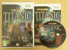 Nintendo Wii Game * HIDDEN MYSTERIES TITANIC * Complete Retro 12431
