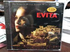 Evita Motion Picture Music Soundtrack  Madonna/Andrew Lloyd Webber 2CD 1996 NEW