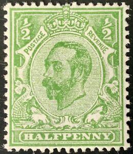 Great Britain #157 Mint CV$8.00 1912 KGV Downey Head