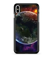 Space Earth Planets Galaxy Universe Colourful Cosmic Starry 2D Phone Case Cover