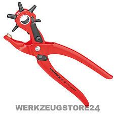 Knipex 90 70 220 mm Revolverlochzange 9070220 Lochzange
