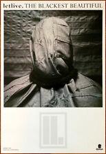 LETLIVE The Blackest Beautiful Ltd Ed LARGE Discontinued RARE Poster! FEVER 333