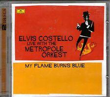 ELVIS COSTELLO-My Flame Burns Blue-2 CD Set-BRAND NEW