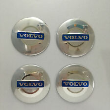 4 Pcs Car Wheel Center Hub Caps 4 x 56mm Car Logo Trim Stickers Emblem For VOLVO