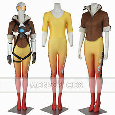 Overwatch Tracer Lena Oxton Women Cosplay Costume Full Set Full SIZE