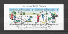 1990 USED Isle of Man block