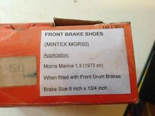 Mintex MGR50 front brake shoes to fit Morris Marina