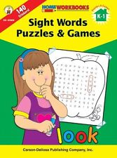 Sight Words Puzzles & Games, Grades K - 1 (Home Wo