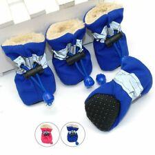 Waterproof Winter Pets Dog Cat Shoes Anti-slip Boots Footwear Warm Socks Booties