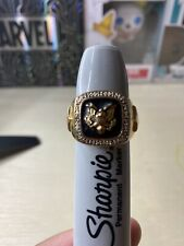 """US ARMY MILITARY RING THIS WE""""LL DEFEND Vintage"""