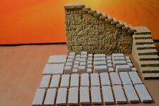 Krippenzubehör, Krippen - Ruinenbau, Orient - Treppenstufen Set 142 teilig