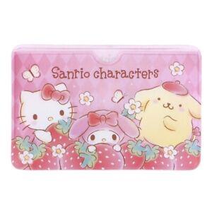 Sanrio Mix Characters 9.4 x 6.2cm PVC ID Card Holder (9-2524-158)