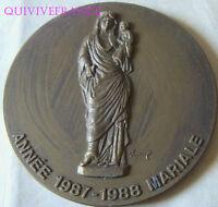 MED5258 - MEDAILLE NOTRE-DAME DE PARIS ANNEE MARIALE 1988
