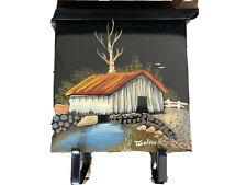Hand Painted Wall Mount Metal Mailbox Newspaper Magazine Holder