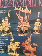 L'Estampille French Art Magazine Jeux D'Echecs Orientaux Avril 1982 011718nonrh