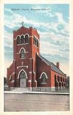Douglas Arizona Catholic Church Street View Antique Postcard K11199