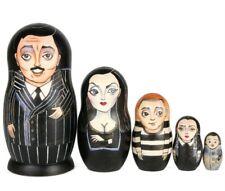 "The Addams Family Nesting Doll Russian Doll Matryoshka 7"" / 5 pcs"