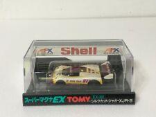 TOMY Super Magna 1/87 EX-002 Silk Cut JAGUAR XJR-9 HO Scale Slot Racing Car MIB