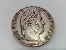 5 Franchi argento - Luigi Filippo I - 1846 - NR 11