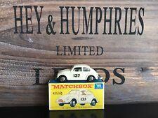 MATCHBOX REGULAR WHEELS No. 15d-2. RARE Version V.N. Comme neuf f-2 box from 1969