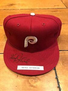 KEITH MORELAND 1980 PHILADELPHIA PHILLIES NEW ERA 7 1/4 Signed Hat Cap NEW W/TAG