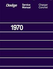 1970 Charger Coronet Shop Service Repair Manual