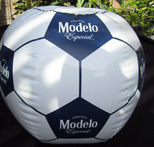 """Modelo Especial 20"""" Soccer Ball Inflatable Beer Blow Up Sign Beach Pool Corona"""