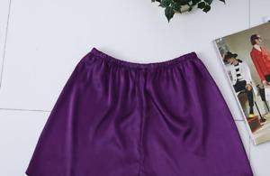 Men Silky Satin Lounge Shorts Sleep Pj Pant  Lingerie Pantie Sleepwear Underwear