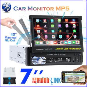 "7"" 1DIN Radio MP5 MP3 Autoradio Touchscreen Bildschirm Bluetooth TF USB + Kamera"