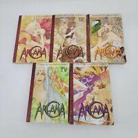 Arcana Volumes 1 3 4 5 6  Manhwa Manga Graphic Novel Book Lot in English