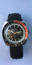 Vintage Caravelle  Divers Watch Automatic Set o Matic 333 Feet Antimagnetic 1976