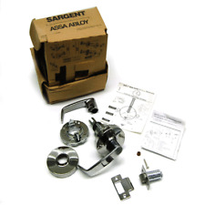 New Sargent 10u15 Assa Abloy Heavy Duty Chrome Cylindrical Passage Lever No Pin